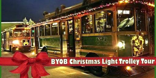 BYOB Christmas Light Trolley Tour 2019