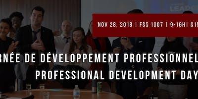 Professional Development Day: Part 2// Journée de Développement Professionnel