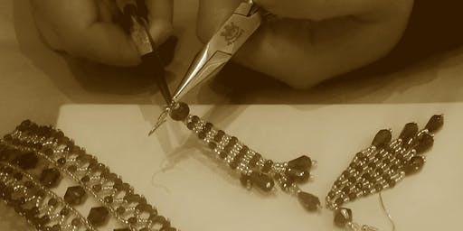 Bead Jewellery Making Class with  Afternoon Tea treats
