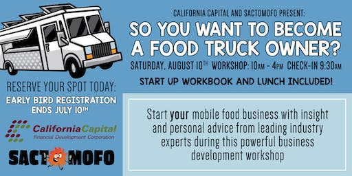 So You Want To Become A Food Truck Owner? Business Development Workshop