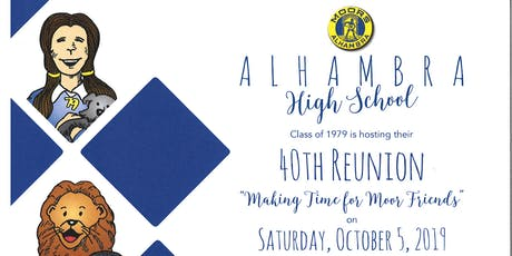AHS Moors Class of 1979 40th Anniversary Reunion tickets