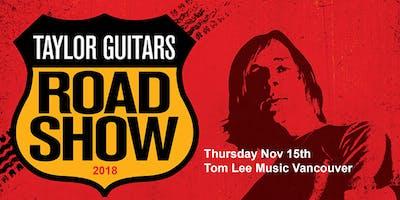 Taylor Guitars Road Show 2018 - Vancouver
