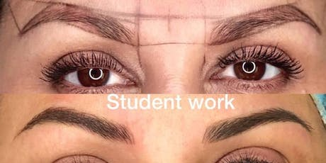 2 Days Microblading( Blade) &  Shading (machine work)  Training tickets