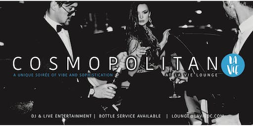 #Cosmopolitan Fridays - An Upscale Lounge Soiree