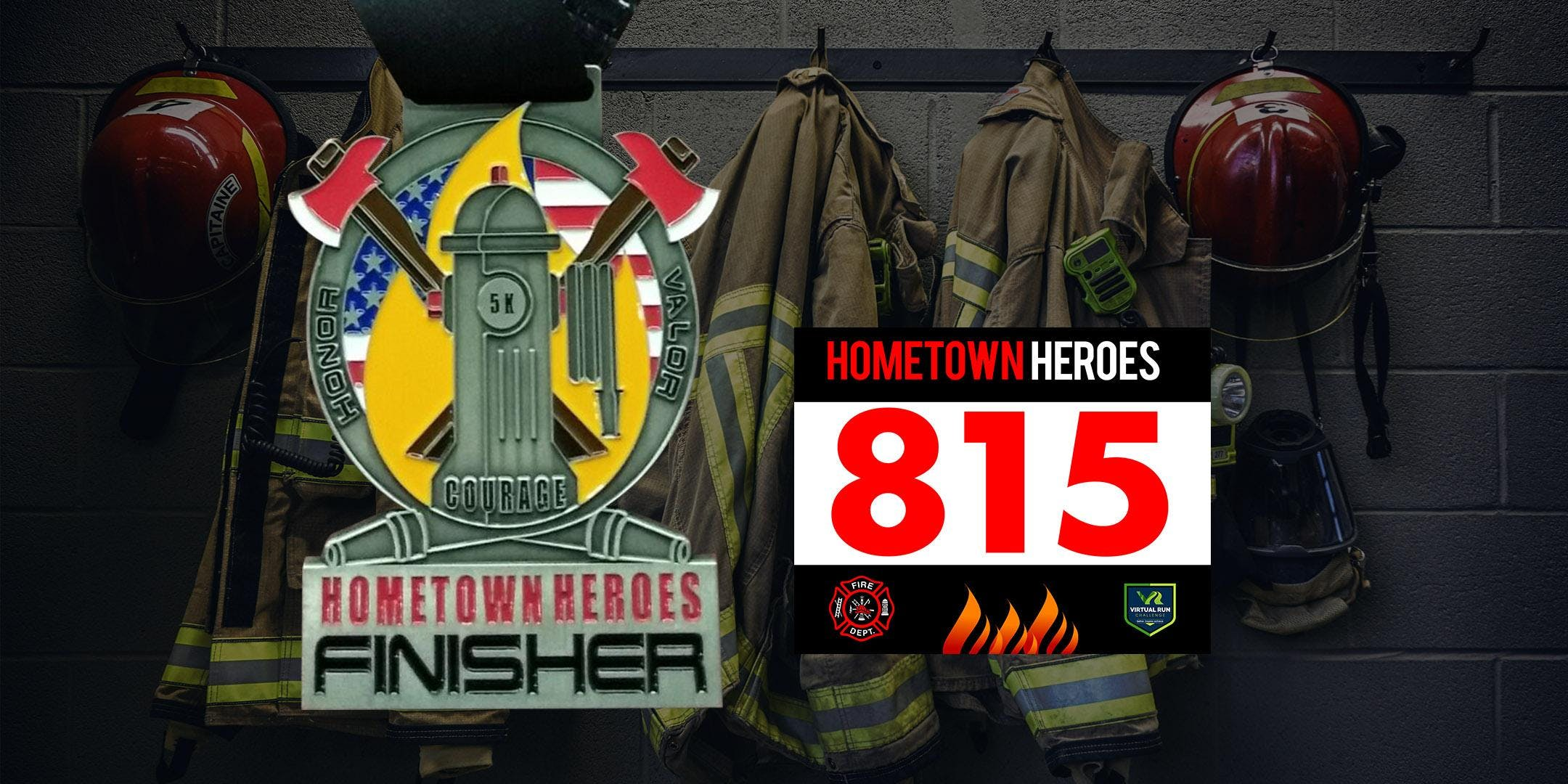 Hometown Heroes Firefighter Virtual 5k Run Walk - Phoenix