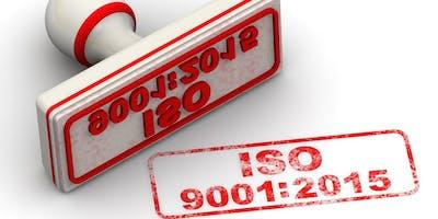 Training ISO 9001:2015 di Jakarta (PASTI JALAN) 4 – 5 April 2019