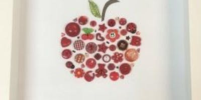 An apple a day: craft a special shadow box