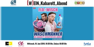 """ÖJW [W]EIN_Kabarett_Abend - Flo & Wisch """"Waschmänner"""""""