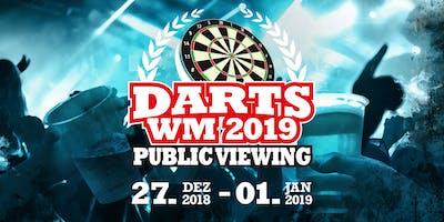 Public Viewing der Darts-WM