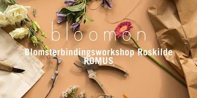 bloomon blomsterbindings-workshop 12. december   Roskilde, ROMUS