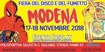 Fiera del disco e del fumetto di Modena 17-18 Novembre 2018