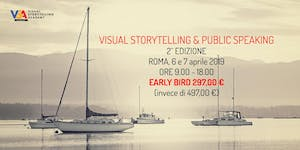 Visual Storytelling e Public Speaking Roma