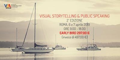 Visual Storytelling e Public Speaking Roma