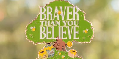 2019 Braver Than You Believe 5K & 10K in honor of National Winnie the Pooh Day -Oakland