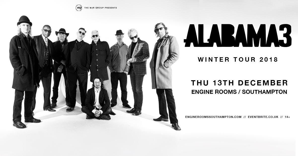 Alabama 3 (Engine Rooms, Southampton)
