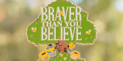 2019 Braver Than You Believe 5K & 10K in honor of National Winnie the Pooh Day -Riverside