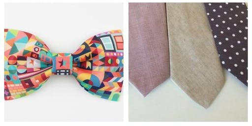 Tie & Bow Tie Making Class with Afternoon Tea Treats
