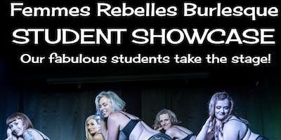The Femmes Rebelles Burlesque Fall Student Showcase