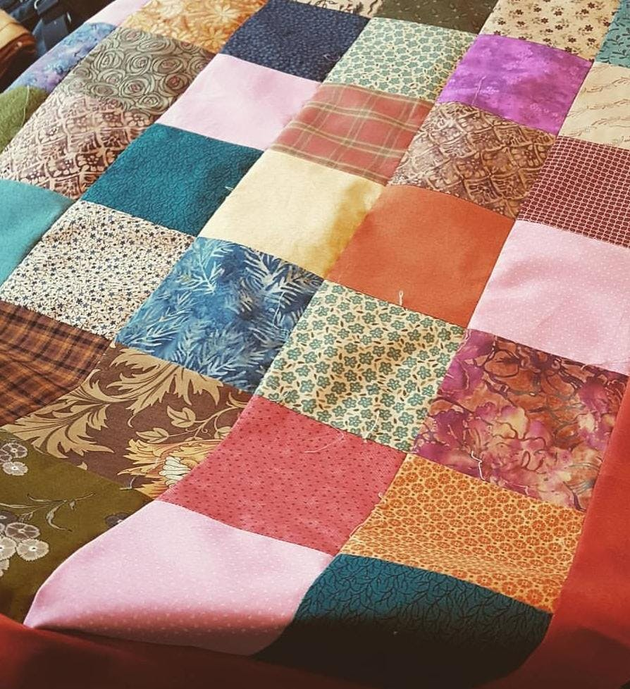 Patch Work Blanket Class with Afternoon Tea Treats.