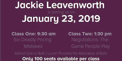 Negotiations- The Games People Play with Jackie Leavenworth
