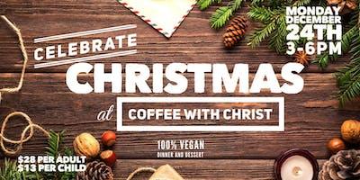 VEGAN Christmas at Coffee with Christ