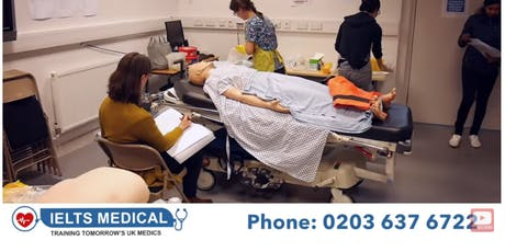 NMC OSCE London hospital review and training - 3 day course (October) tickets