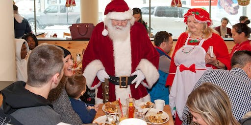Breakfast with Santa at Sunset Grill  November 30th, 2019