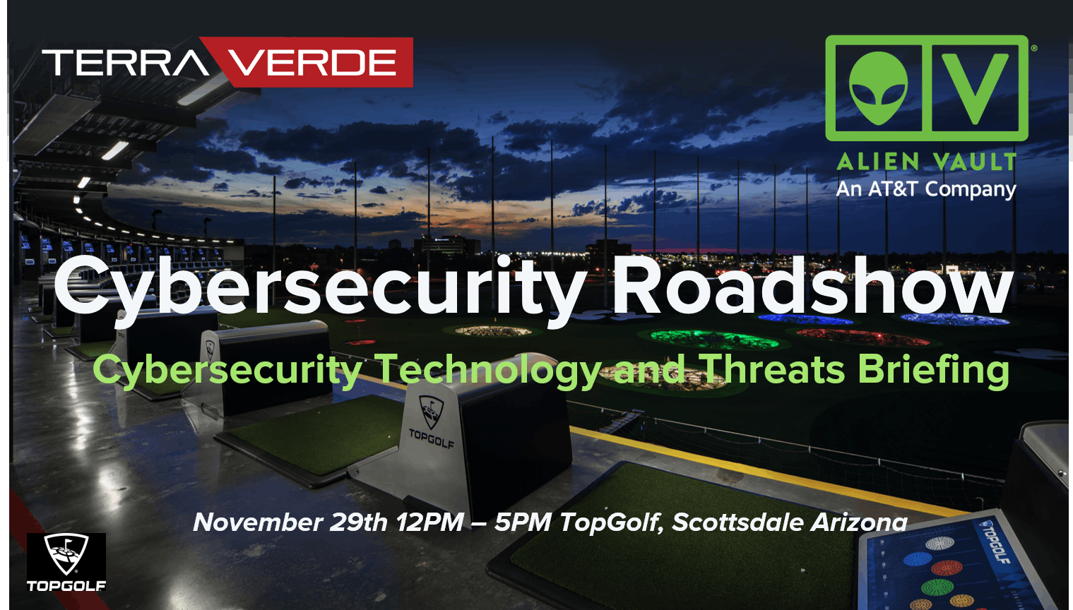 AlienVault & Terra Verde Cybersecurity Roadshow