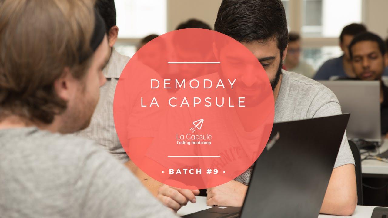 Demoday La Capsule