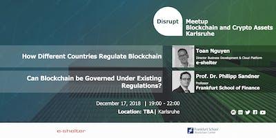 Disrupt Meetup | Regulatory Framework(s) for Virtual Financial Assets