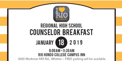 Rio Hondo College Regional High School Counselor Breakfast