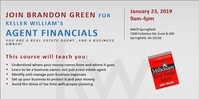 Agent Financials with Brandon Green