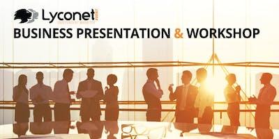 Lyconet Business Presentation & Workshop: Carson, CA - November 26, 2018