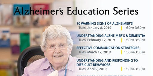 Dining and Dementia, Alzheimer's Workshop, September 18, 2019, Kadlec Healthplex