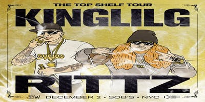King Lil G & Rittz - The Top Shelf Tour - New York - December Sunday 2