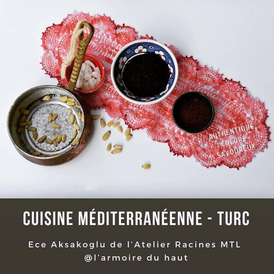 Cuisine méditerranéenne -Turquie II | Ece Aks