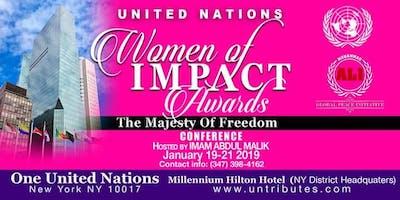 UNITED NATIONS MEN & WOMEN IMPACT AWARDS