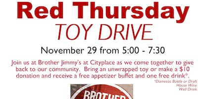 Red Thursday Toy Drive