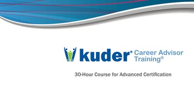 Kuder Career Advisor Training: Advanced, SPRING 2020 Course
