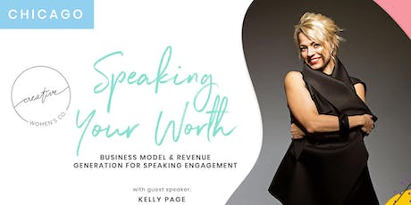 Chicago Creative Women's Co. Brunch: Speaking Your Worth | Business Model/Revenue Generation for Speaking Engagement tickets