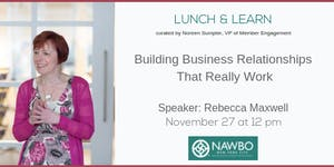 November Lunch & Learn: Building Business...