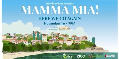 Moonlit Movies: Mamma Mia 2 & Feeding South Florida Food Drive