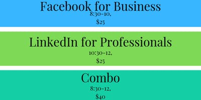 Business Training: Facebook & LinkedIn