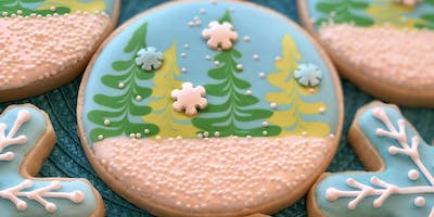 Winter Theme Cookie Decorating Class