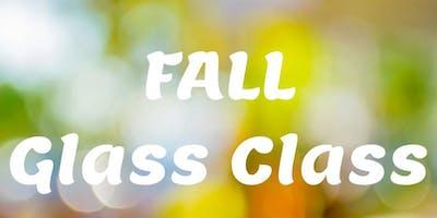 Fall Shattered Glass Class