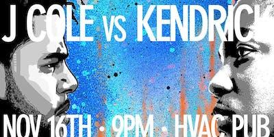 J. Cole vs Kendrick @ HVAC Pub