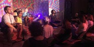 Kirtan in the Yurt