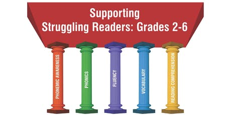 Supporting Struggling Readers: Grades 2-6 tickets
