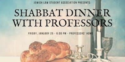 SHABBAT DINNER WITH PROFESSORS