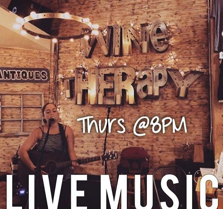 LIVE MUSIC at SB WINE THERAPY